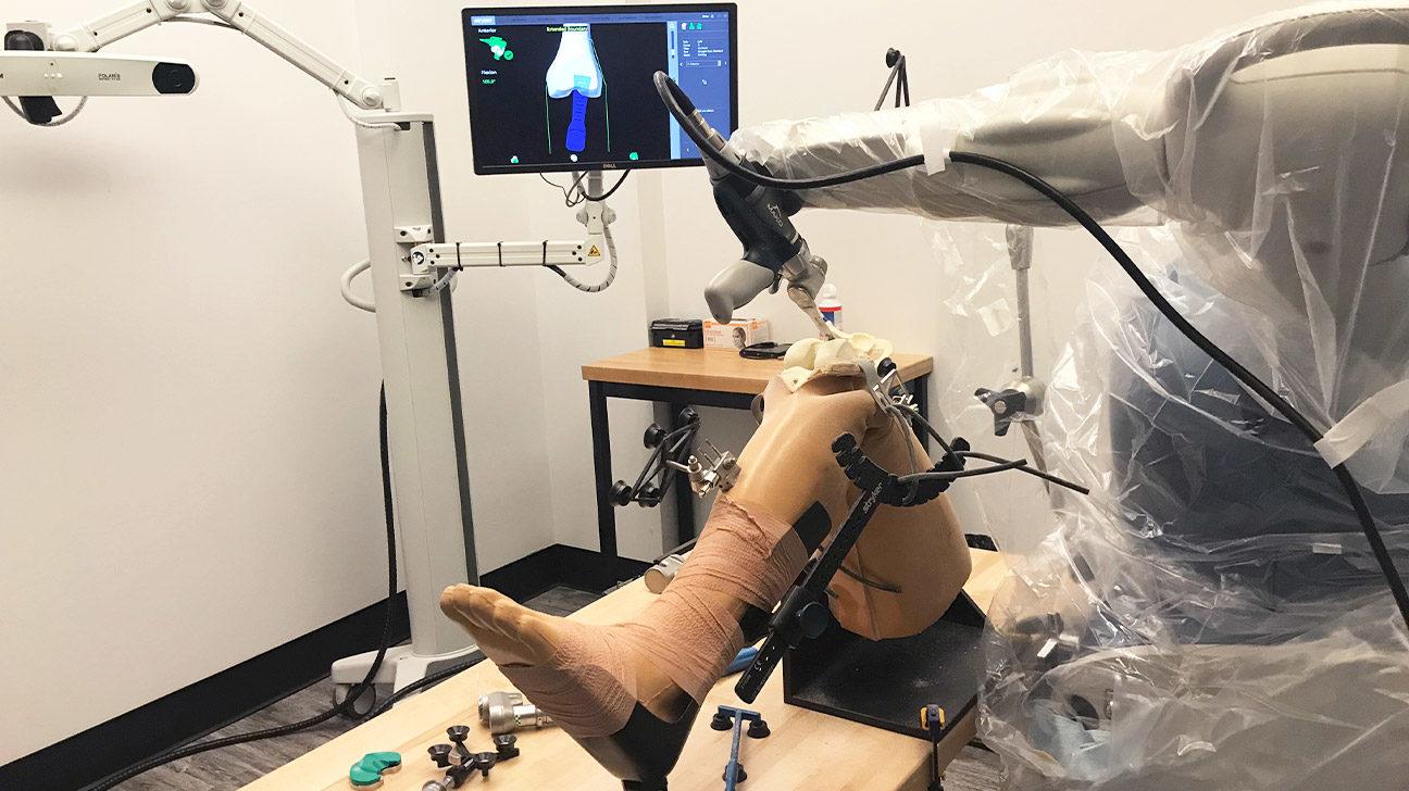 Robotic Orthopedic Surgery In Iran